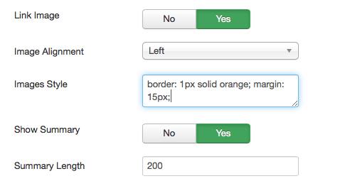 Arashtad News; Improved Latest Article Module for Joomla 3
