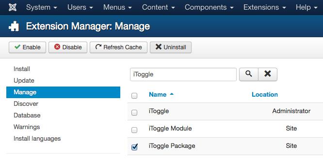 Arashtad Toggle - Responsive Toggle for Joomla! 3